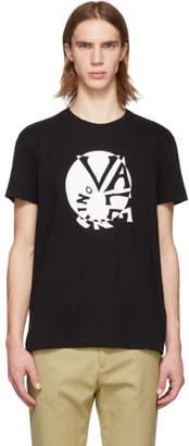 Valentino Black Circle Logo T-Shirt