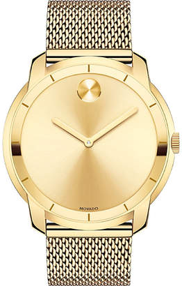 Movado 3600373 gold-tone stainless steel watch