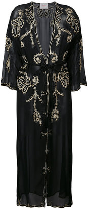 Jucca embroidered sheer coat $446.79 thestylecure.com