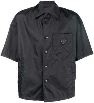 Prada open collar shirt