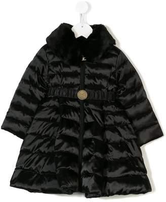 Elisabetta Franchi La Mia Bambina padded coat