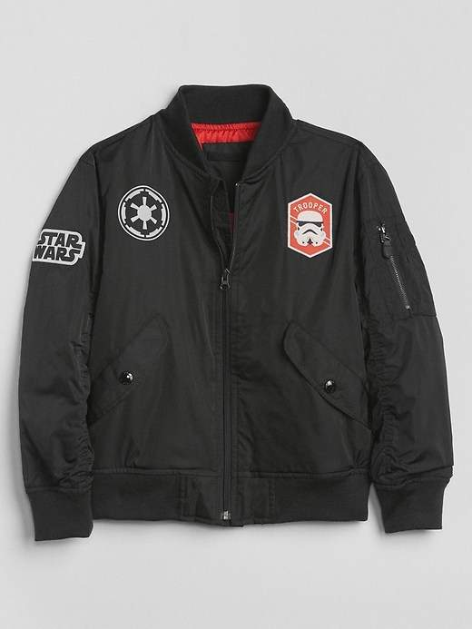 GapKids | Star Wars Patch Bomber Jacket