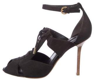 Louis Vuitton Leather Ankle Strap Sandals