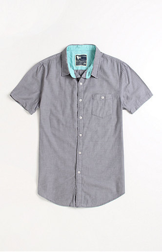 Modern Amusement Brad Chambray Short Sleeve Woven Shirt