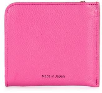 H Beauty&Youth corner zip logo wallet
