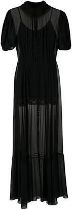 Couture Andrea Bogosian Poli silk gown