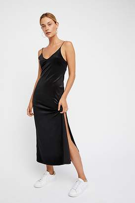 Meow Meow Velvet Maxi Slip by Intimately at Free People