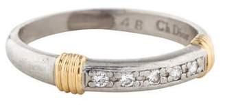 Christian Dior Two-Tone Diamond Band