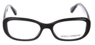 Dolce & Gabbana Rectangular Acetate Eyeglasses