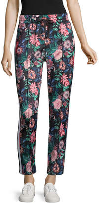PROJECT RUNWAY Project Runway Floral Track Pants