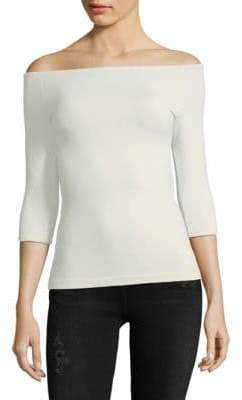 Helmut Lang Off-The-Shoulder Top