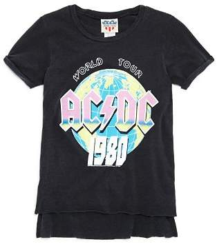 Junk Food Clothing Girls' AC/DC 1980 Tee - Big Kid