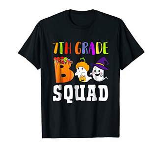 7th Grade Boo Squad Halloween Ghost Shirt Gift Ideas