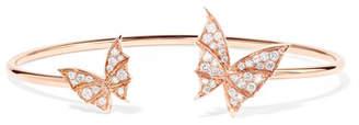 Stephen Webster Fly By Night 18-karat Rose Gold Diamond Cuff