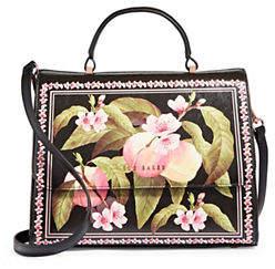 Ted Baker Floral Top Handle Bag