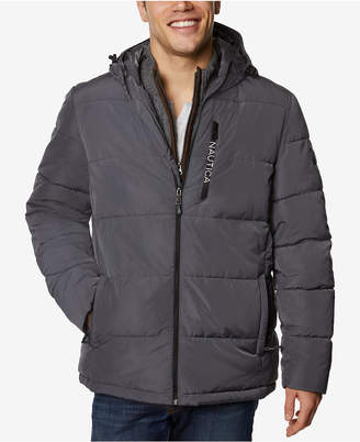 Nautica Men's Short Bomber Snorkel Jacket