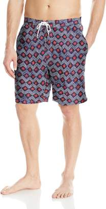Trunks Men's Swami 8 inch Pattern Swim