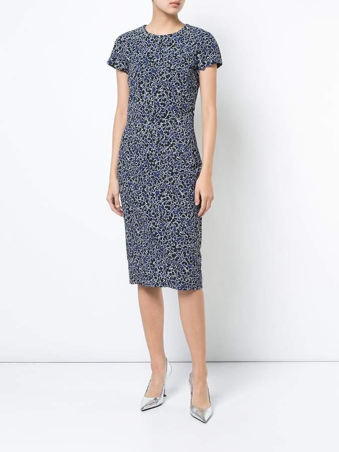 Michael Kors floral print pencil dress