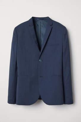 H&M Blazer Super skinny fit - Blue