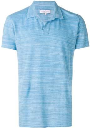 Orlebar Brown plain polo shirt
