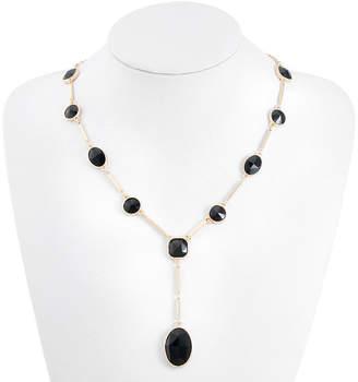 MONET JEWELRY Monet Jewelry Womens Black Y Necklace