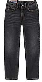 Acne Studios Kids' Bear Straight Jeans-Black