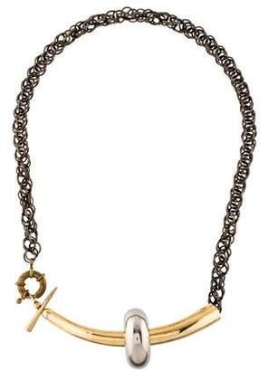 Gabriela Artigas Two-Tone Collar Necklace