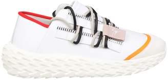 Giuseppe Zanotti Sneakers Urchin In Rubberized Leather White