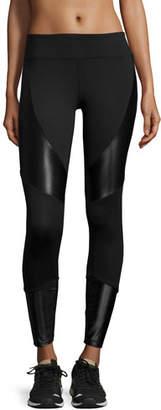 Koral Activewear Forge Contrast-Panel Sport Leggings