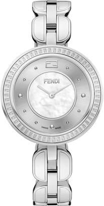 Fendi My Way Genuine Fox Fur Bracelet Watch, 36mm