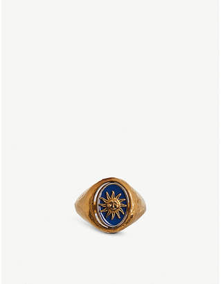 Givenchy Astral Flip gold-tone ring