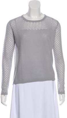 Allude Open Knit Cashmere Top Open Knit Cashmere Top