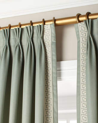"Eastern Accents Mack Ice Left Panel Curtain 20""W x 108""L Each"