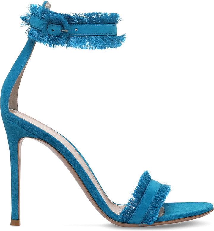 Gianvito Rossi Lola suede heeled sandals
