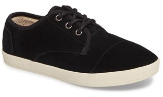 Women's Toms Paseo Faux Shearling Sneaker $68.95 thestylecure.com