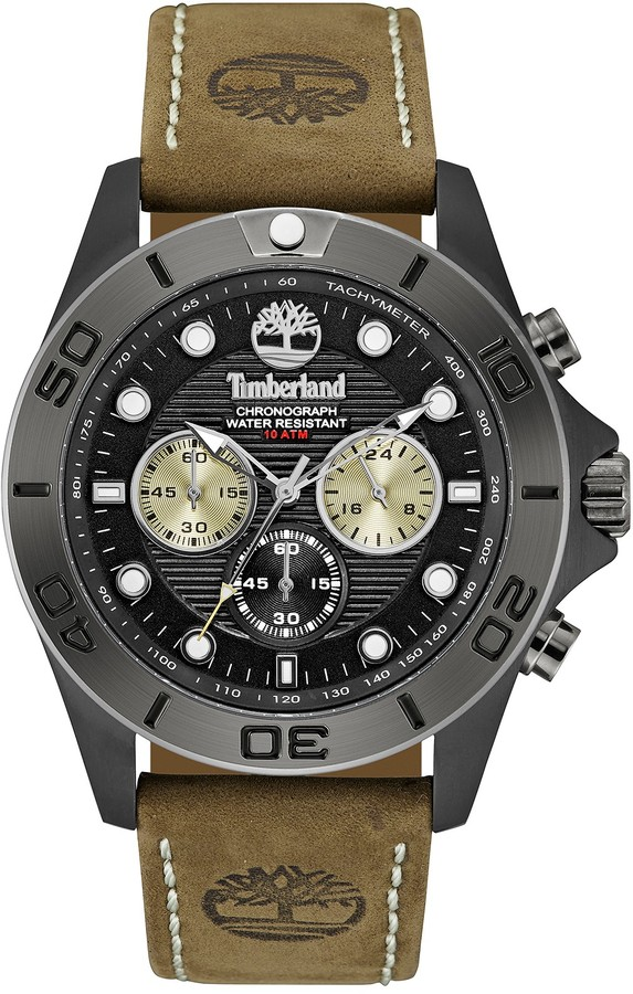 Timberland Timberland Men's Northfield Leather Strap Watch