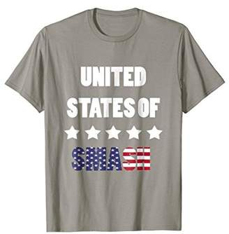 Smash Wear United States of All Might Anime T-Shirt