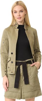 Zadig & Voltaire Vladimir Grunge Jacket $348 thestylecure.com