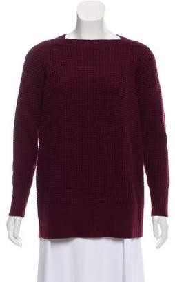 Reiss Waffle Knit Oversize Sweater