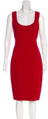 Donna Karan Sleeveless Midi Dress