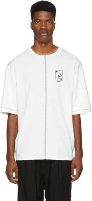 Yang Li White Double Sleeve T-Shirt