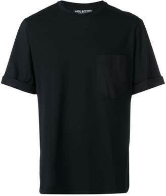 Neil Barrett loose fit pocket T-shirt