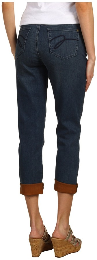 Miraclebody Jeans Gina Jean w/ Coated Cuffs (Vail/Saffron) - Apparel