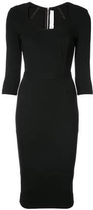 Victoria Beckham scoop neck dress