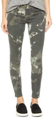 Current/Elliott Camo Stiletto Jeans