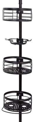 Better Homes & Gardens Tension Pole Shower Caddy, Oil-Rubbed Bronze