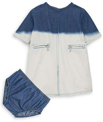 7 For All Mankind Seven 7 Baby's Two-Piece Bleach Dress And Briefs Set