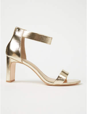 58c062ef5a Gold Heeled Sandals - ShopStyle UK