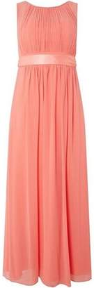 Dorothy Perkins Womens **Showcase Petite Coral Maxi Dress
