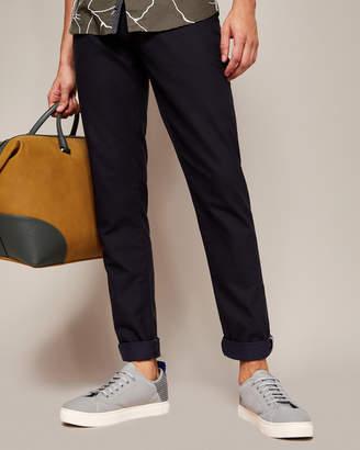 Ted Baker TEXSLIM Mini design slim fit cotton pants